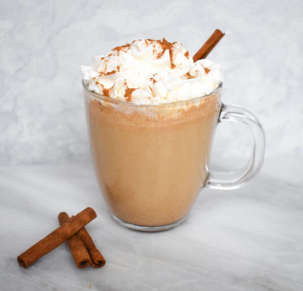 """Low-FODMAP """"Skinny"""" Pumpkin Spice Latte Recipe; Gluten"""