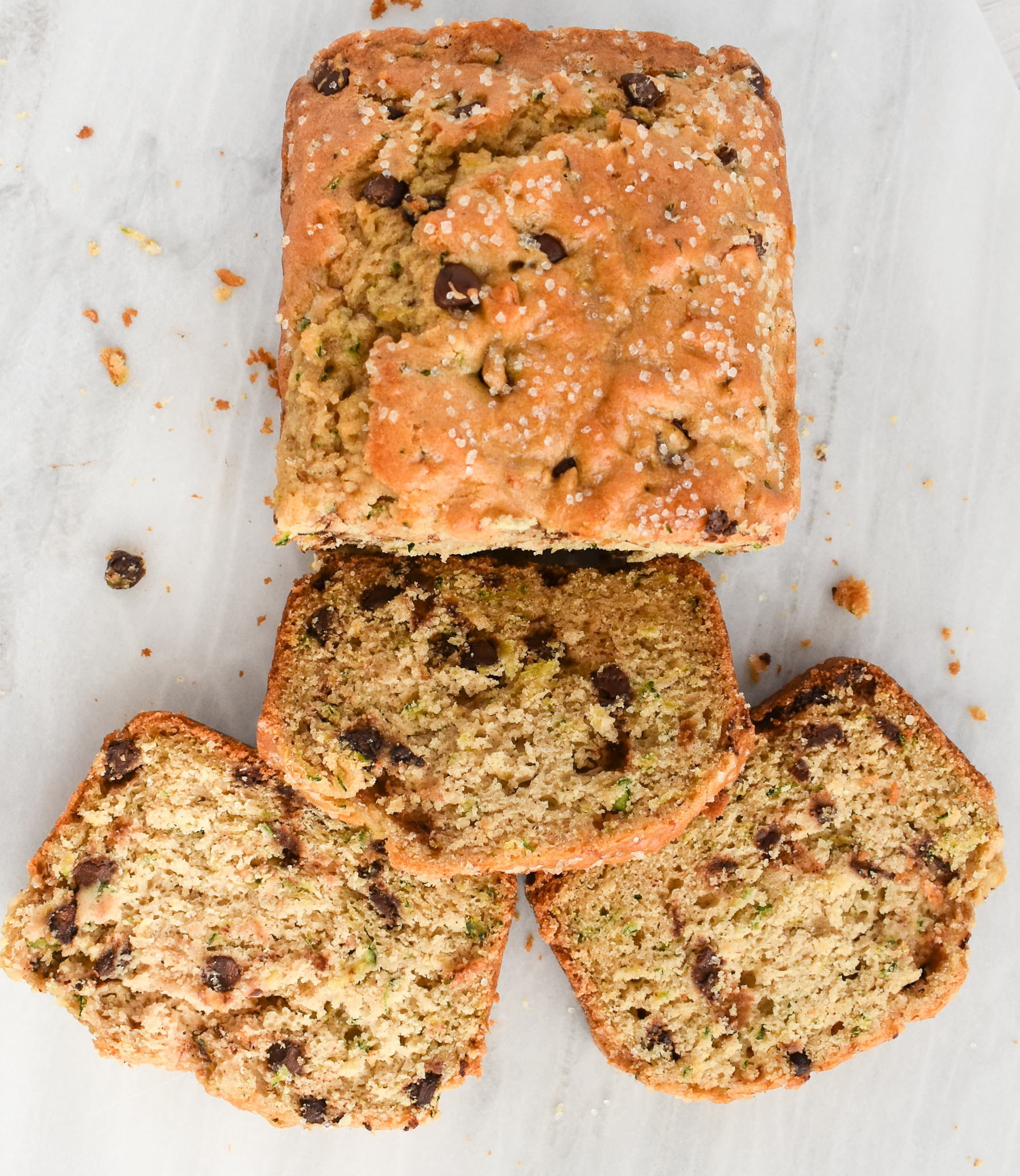 The Moistest Low Fodmap Zucchini Bread With Chocolate Chips Gluten Free Dairy Free Rachel Pauls Food