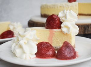 low-FODMAP Cheesecake Factory Cheesecake