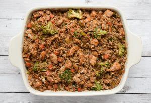 low fodmap teriyaki chicken casserole