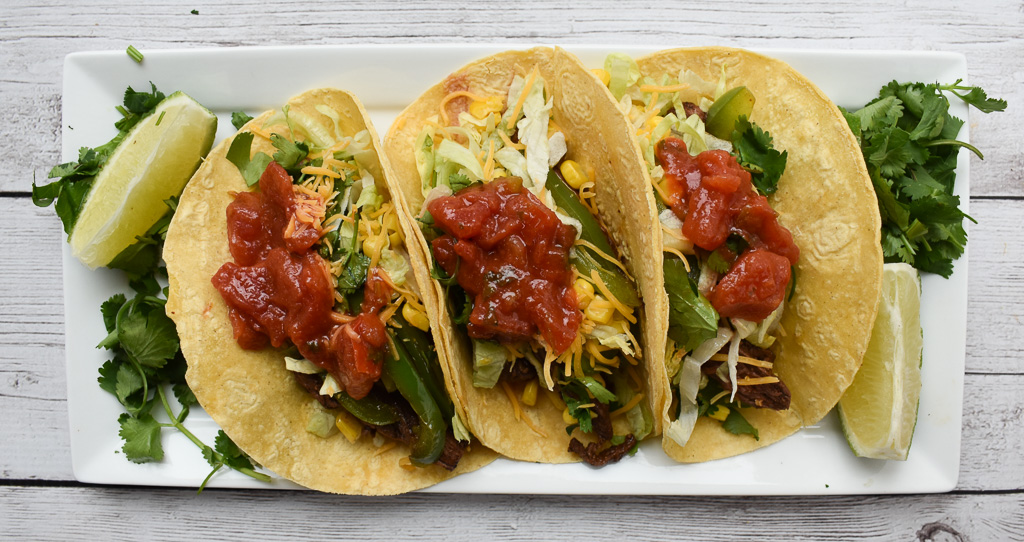 low fodmap steak tacos