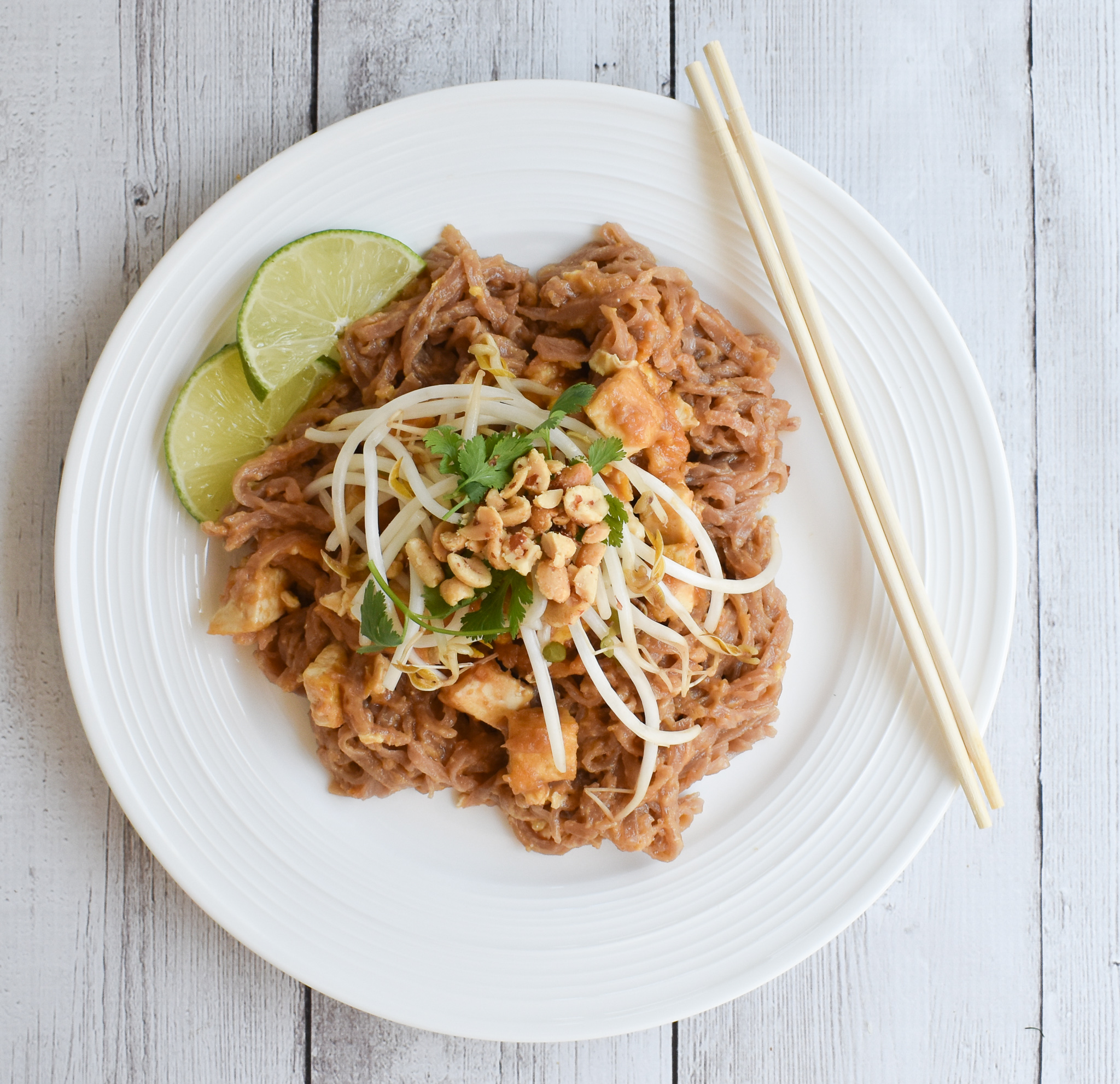 Low Fodmap Pad Thai Perfection Recipe Gluten Free Vegetarian Rachel Pauls Food