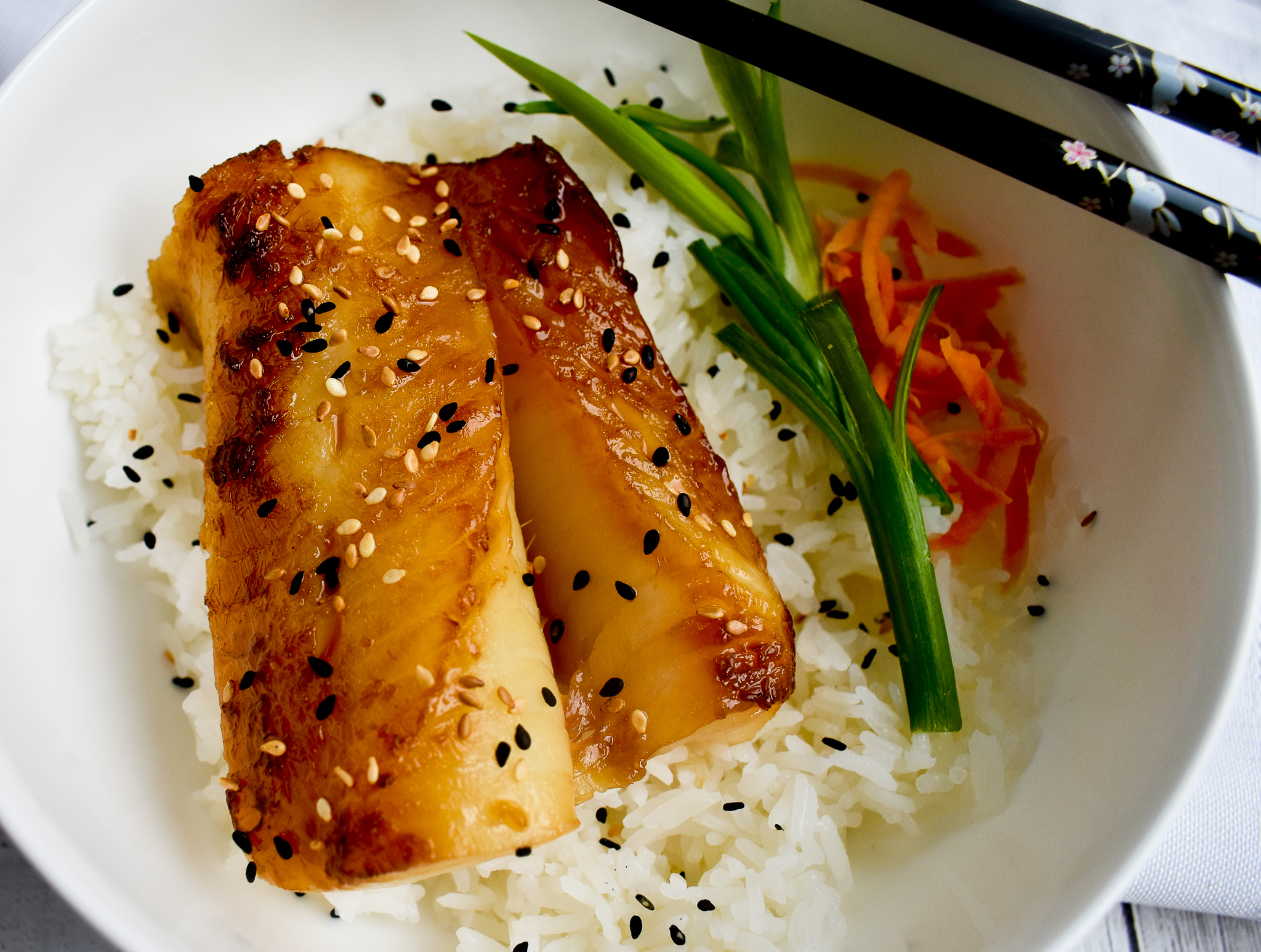Low Fodmap Japanese Glazed Black Cod Gluten Free Dairy Free Rachel Pauls Food