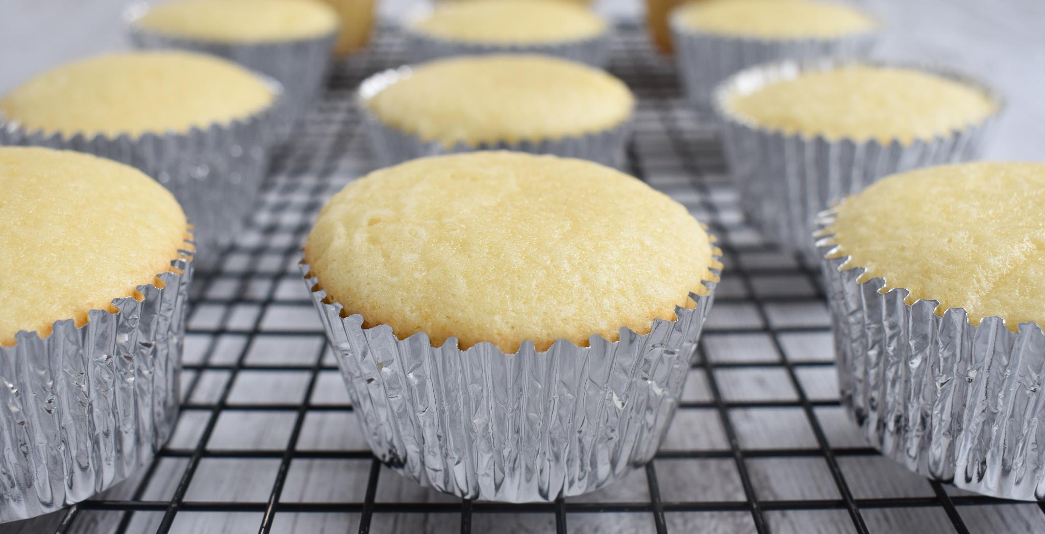 Low Fodmap Vanilla Cupcakes Or Layer Cake Recipe Gluten Free Dairy Free