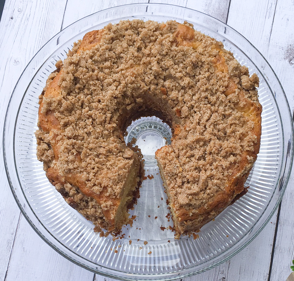 low fodmap coffee cake