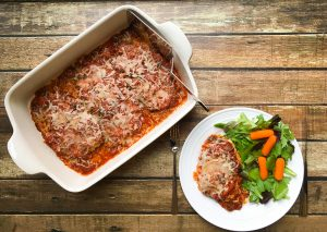 low fodmap chicken parmesan