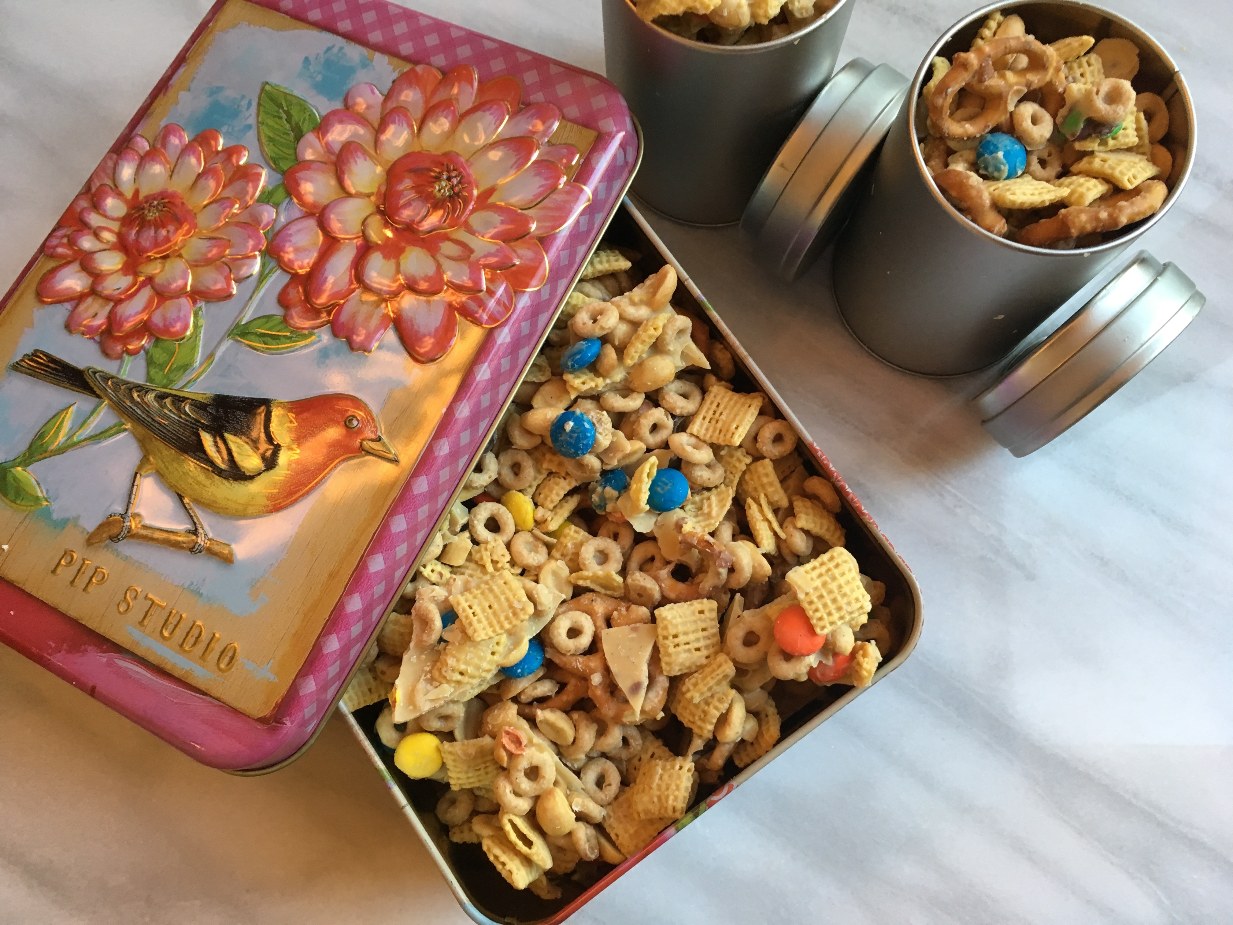 Irresistible Low-FODMAP White Chocolate Party Mix/Trail Mix/Snack ...
