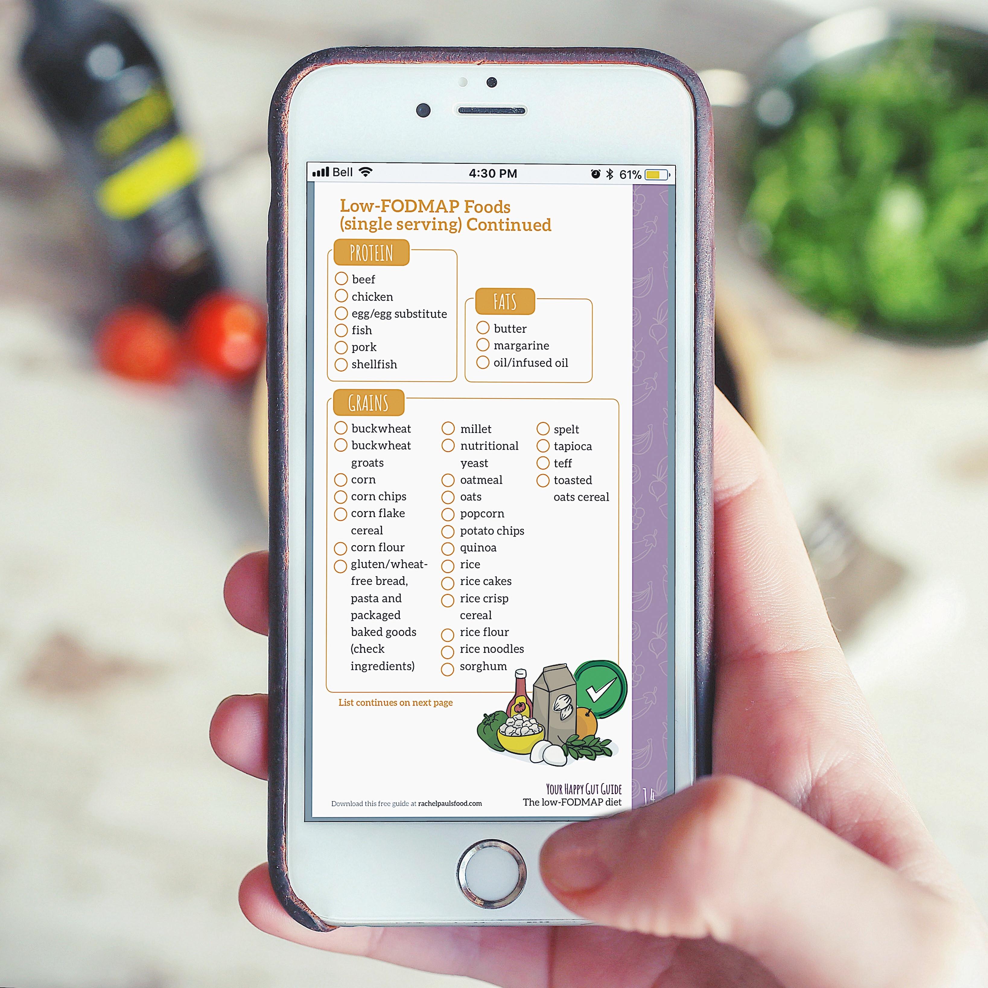 Dr Rachel S Low Fodmap Diet 5 Day Meal Plan Recipes And More Ibs Friendly Rachel Pauls Food