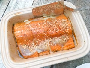 low fodmap salmon with orange maple